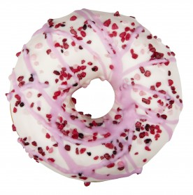 Cream and Wild Fruits Donut