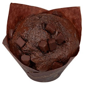Double Choc Muffin